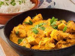 Пиле с къри и кашу по китайски - снимка на рецептата